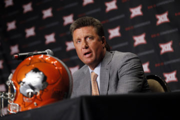 Golden Oklahoma State S Gundy Has Survived So Long In The Big 12 For A Reason Hookem Com